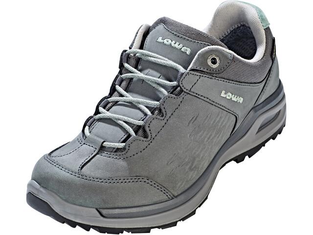nieuwe stijl hoogwaardige sportkleding outlet winkel Lowa Locarno GTX Low Shoes Women graphite/jade